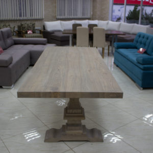 quality table for kitchen from oak