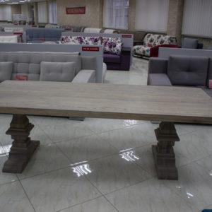 solid wood oak table