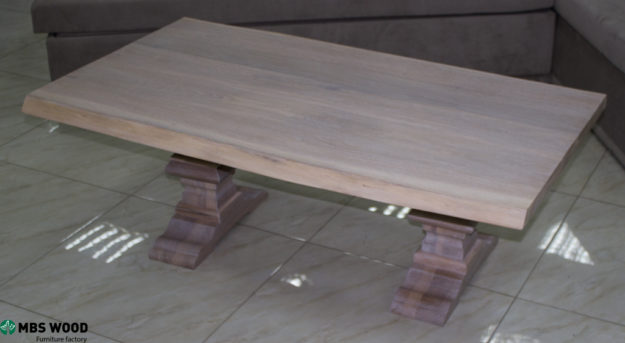 coffee table oak white