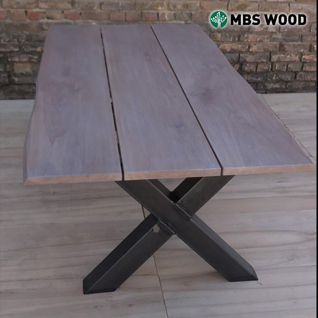 Dining table oak 3 planks