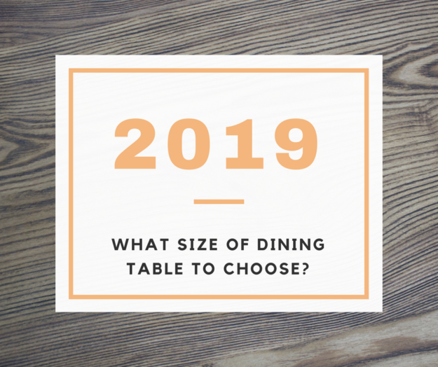 What size of dining table to choose?