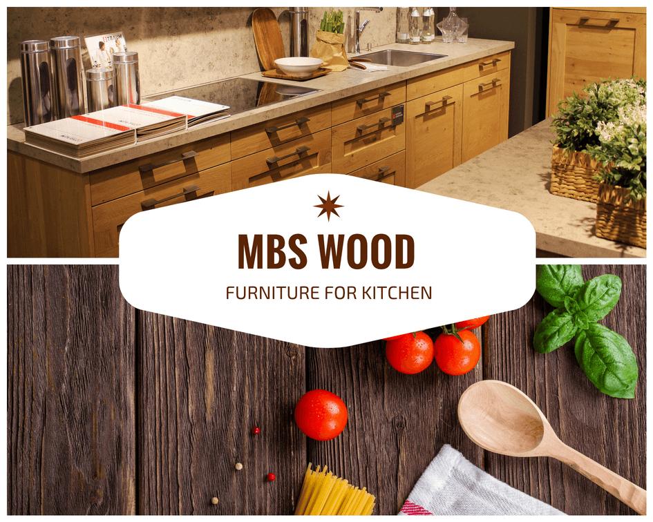 keuken meubels van massief hout