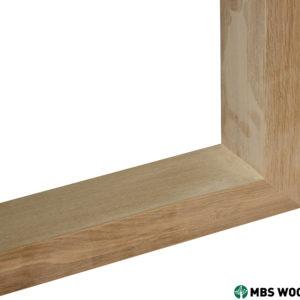 oak table legs unfinished