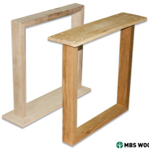unfinished wood table legs