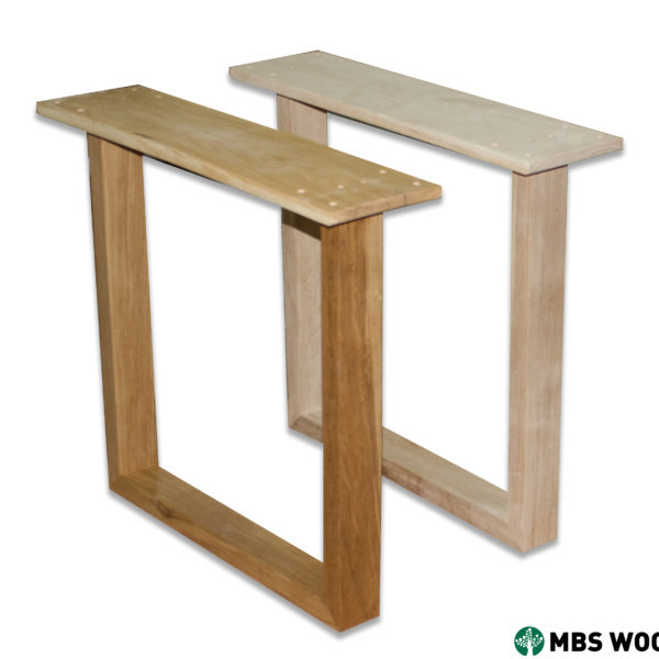 wood dining table legs