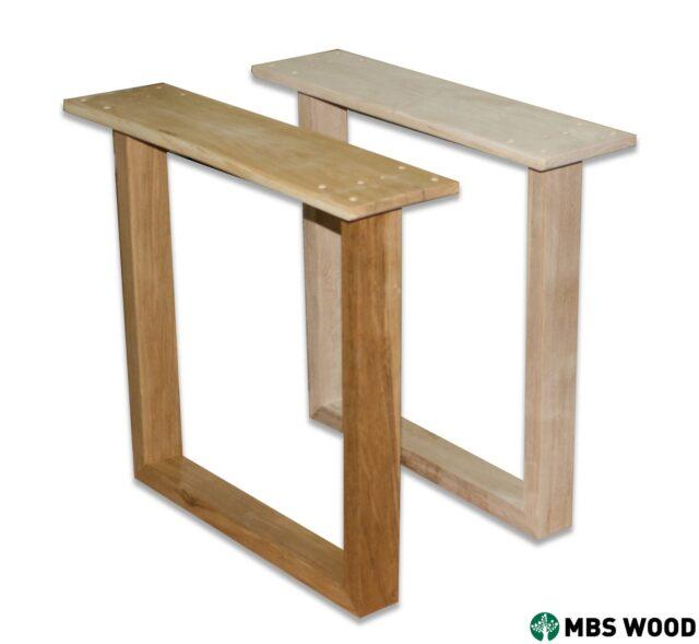 wood dining table legs