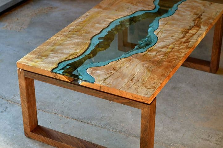 how to epoxy a table