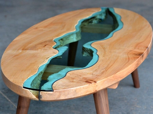 Beautiful Tables With Epoxy Resin Mbs Wood