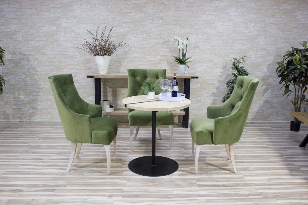 Small oak tables