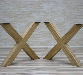 Production of table legs