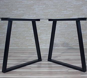 Trapez metal legs