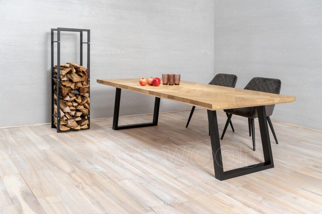 table à manger en chêne antique