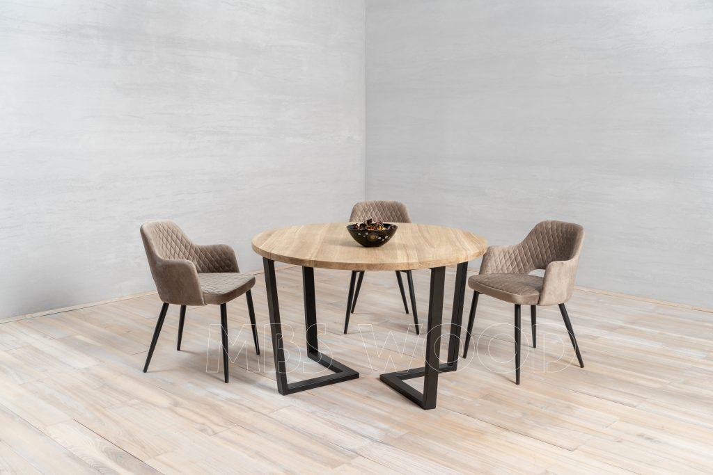 table en chêne de gros xl
