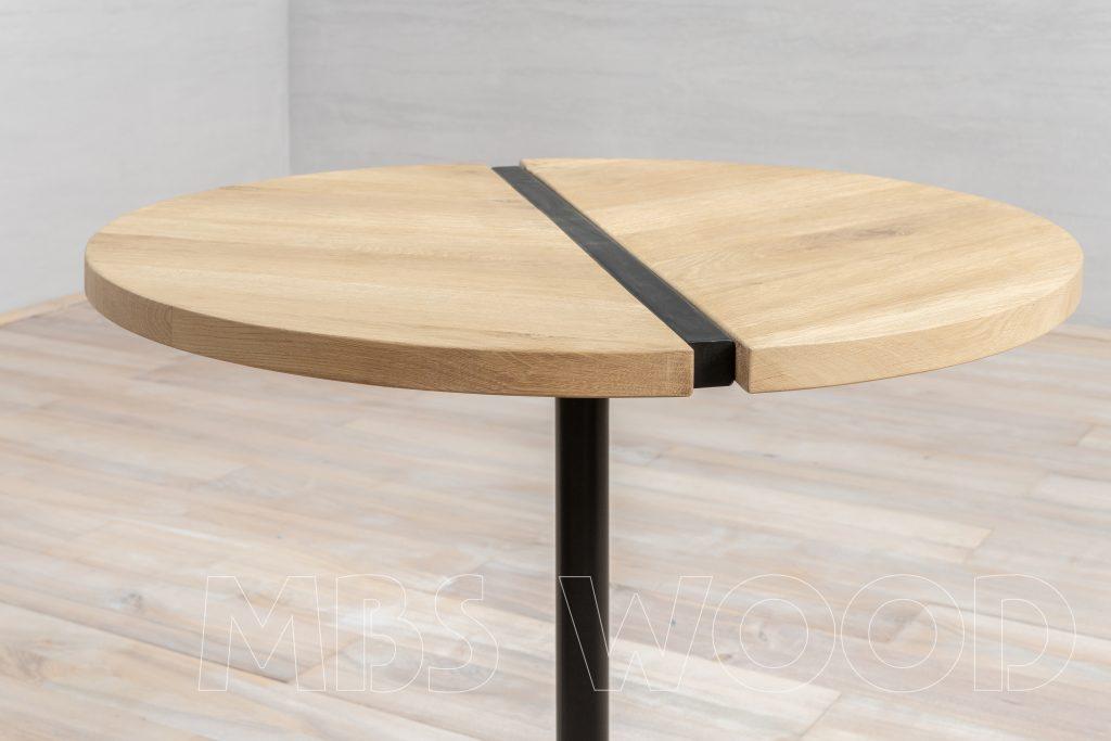 dimensions de table en chêne foto