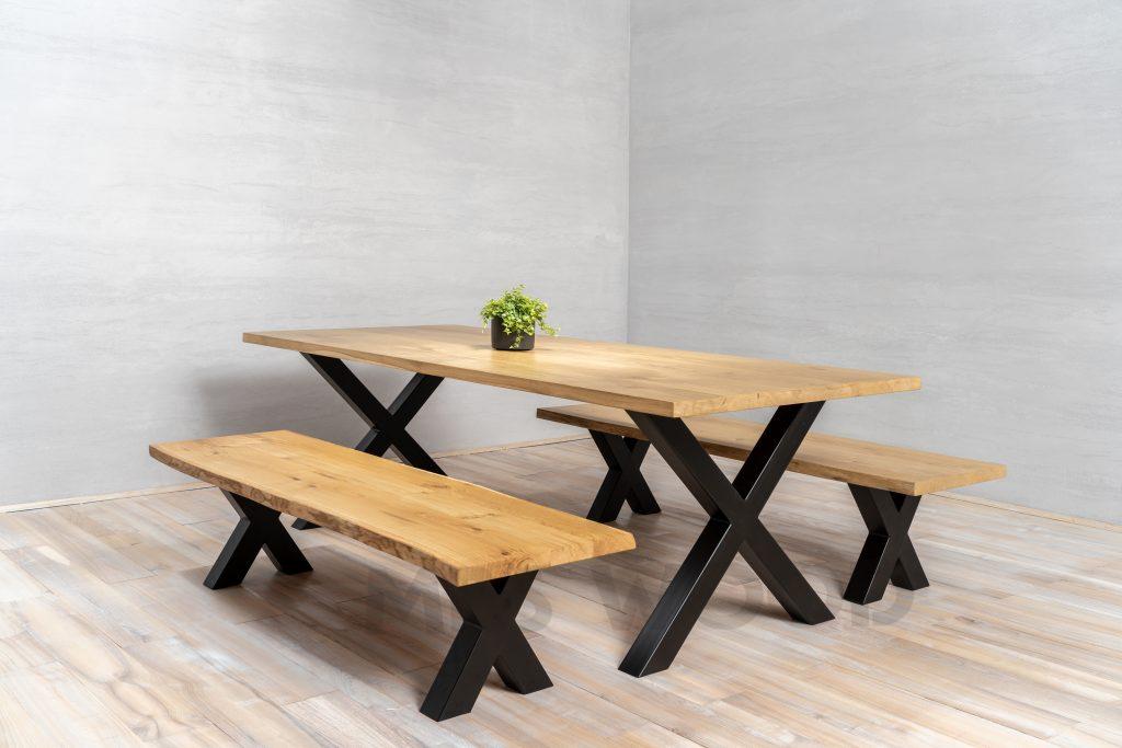 ensemble de table en chêne de gros
