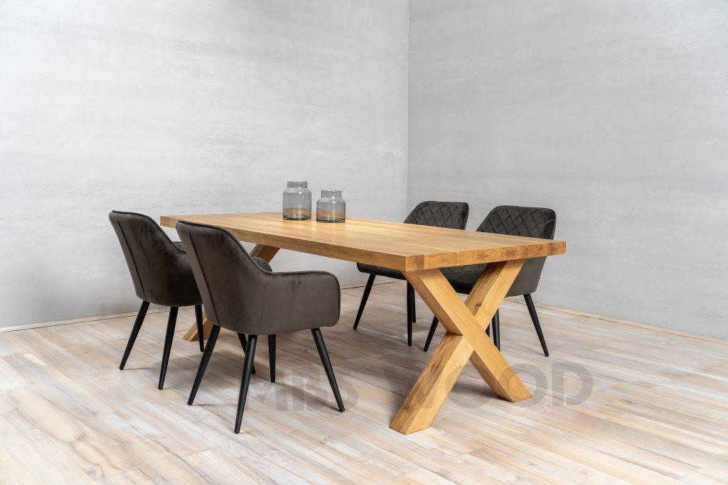 table en chêne de gros xxl