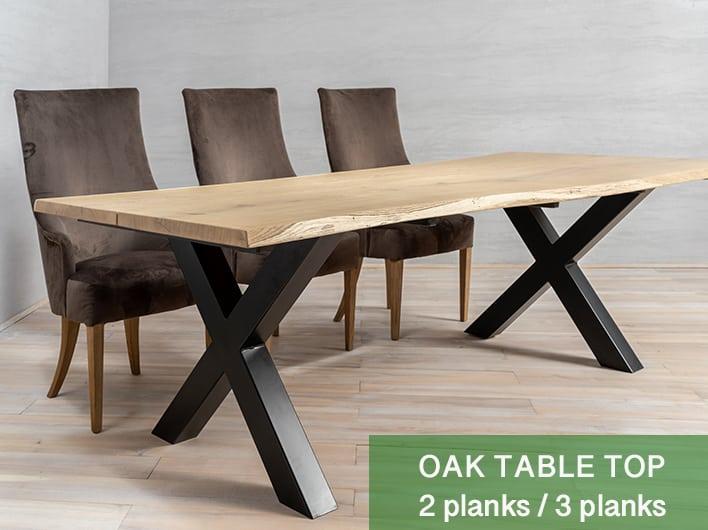 Oak Tabletops 2/3 planks