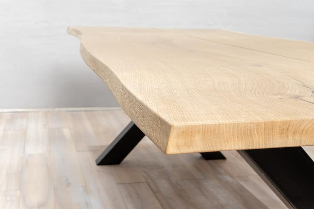 top of wooden table